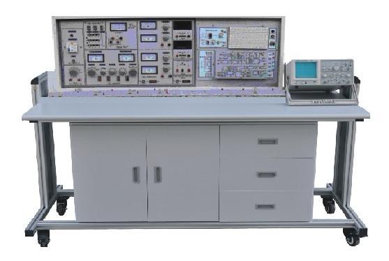 信号源,电路实验区,电路开发区,主体采用独特的两面板工艺,正面贴模